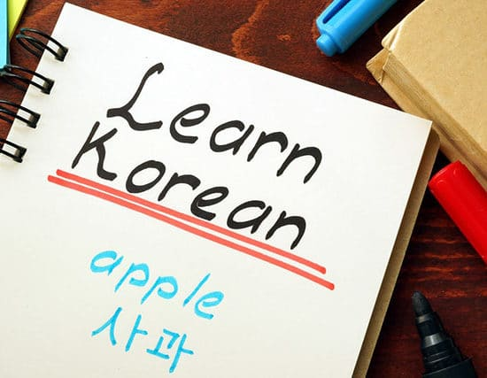 learning korean in singapore